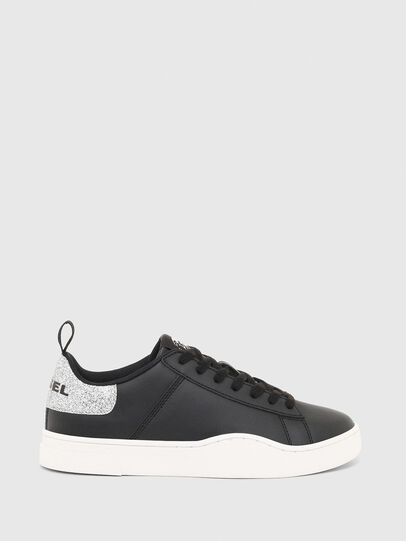 Diesel - S-CLEVER LOW LACE W, Negro/Plata - Sneakers - Image 1