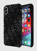 DIESEL PRINTED CO-MOLD CASE FOR IPHONE XS & IPHONE X, Negro - Fundas