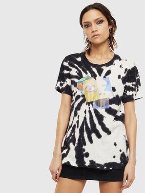 T-SILY-S4, Negro/Blanco - Camisetas
