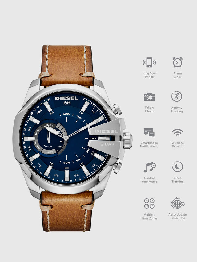 Diesel - DT1009, Marrón - Smartwatches - Image 1