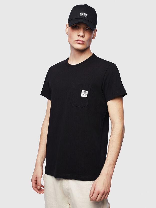 T-WORKY-MOHI-S1, Negro - Camisetas