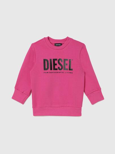 Diesel - SCREWDIVISION-LOGOB-, Rosa - Sudaderas - Image 1