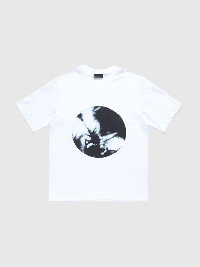Diesel - TMOONYX2 OVER, Blanco - Camisetas y Tops - Image 1