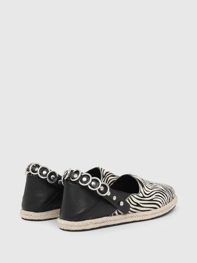 Diesel - S-LIMA W, Negro/Blanco - Zapatos bajos - Image 3