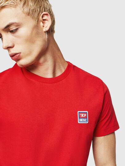 Diesel - T-DIEGO-DIV, Rojo Fuego - Camisetas - Image 3