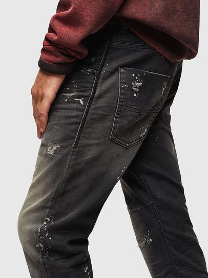 Diesel - Krooley JoggJeans 084AE, Negro/Gris oscuro - Vaqueros - Image 4