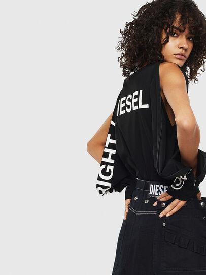 Diesel - T-ROSY, Negro - Camisetas - Image 4