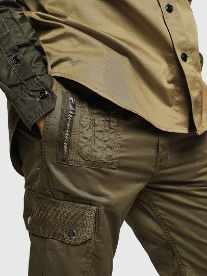 Diesel - P-PHANTOSKY, Verde Militar - Pantalones - Image 3