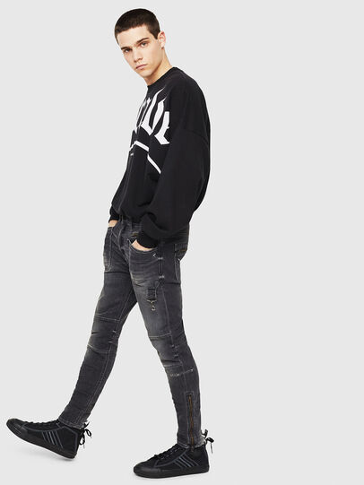 Diesel - S-ASTICO MID LACE, Negro - Sneakers - Image 6