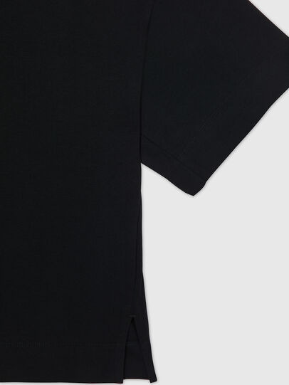 Diesel - UFTEE-SHORTEE, Negro - Camisetas - Image 4