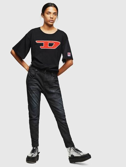 Diesel - Fayza JoggJeans 069GP, Negro/Gris oscuro - Vaqueros - Image 5