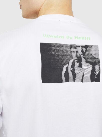 Diesel - T-JUSTLY, Blanco - Camisetas - Image 4