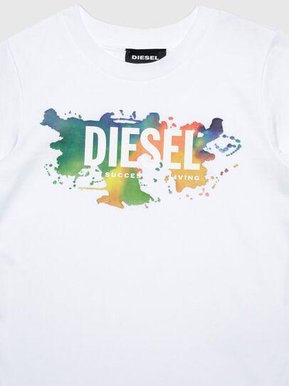 Diesel - TDOSKYB ML-R, Blanco - Camisetas y Tops - Image 3