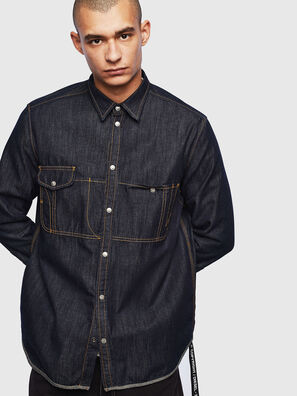 D-MILLY, Azul Oscuro - Camisas de Denim