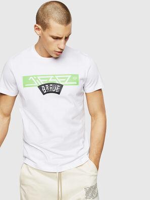 T-DIEGO-A1, Blanco - Camisetas