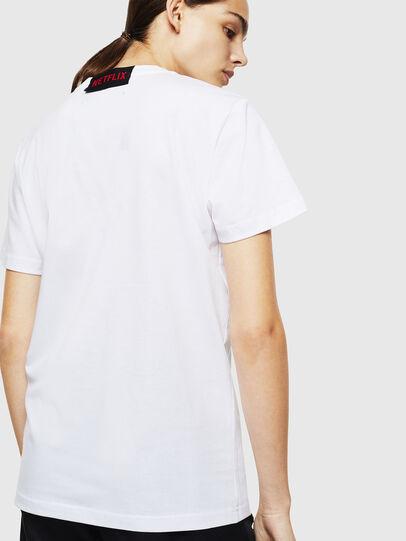 Diesel - LCP-T-DIEGO-NAIROBI, Blanco - Camisetas - Image 4