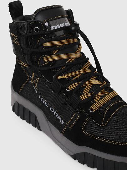 Diesel - S-RUA MID SP, Negro - Sneakers - Image 4