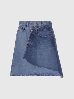 DE-TOBY, Azul Claro - Faldas