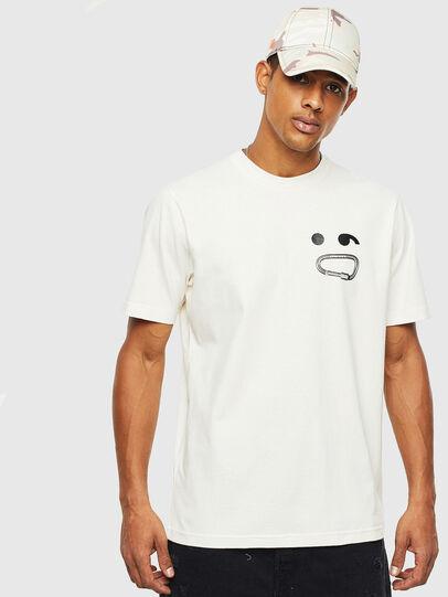 Diesel - T-JUST-T14, Blanco - Camisetas - Image 1