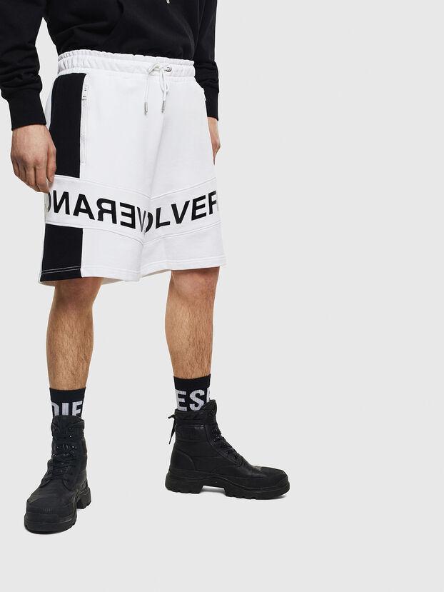 P-SHAM, Blanco/Negro - Shorts
