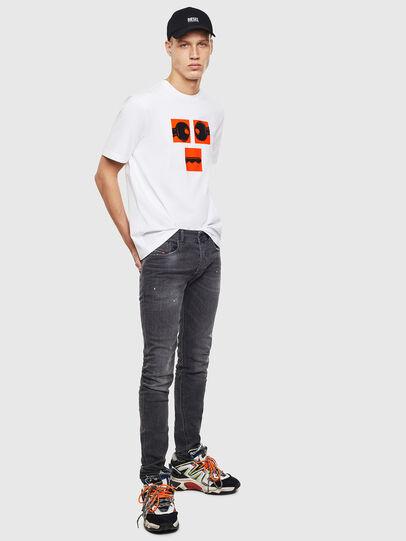 Diesel - T-JUST-T23, Blanco - Camisetas - Image 2