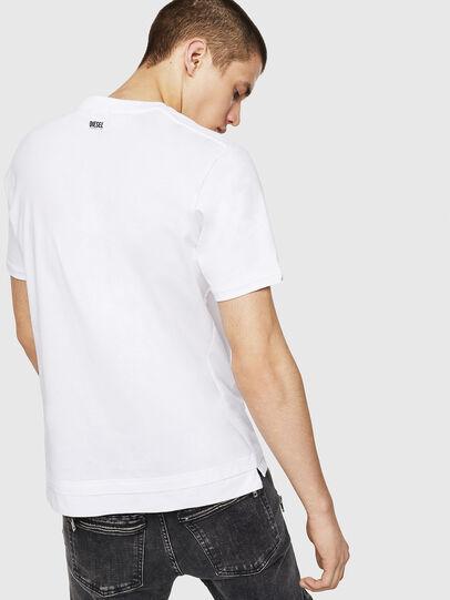 Diesel - T-CHERUBIK-NEW, Blanco - Camisetas - Image 2