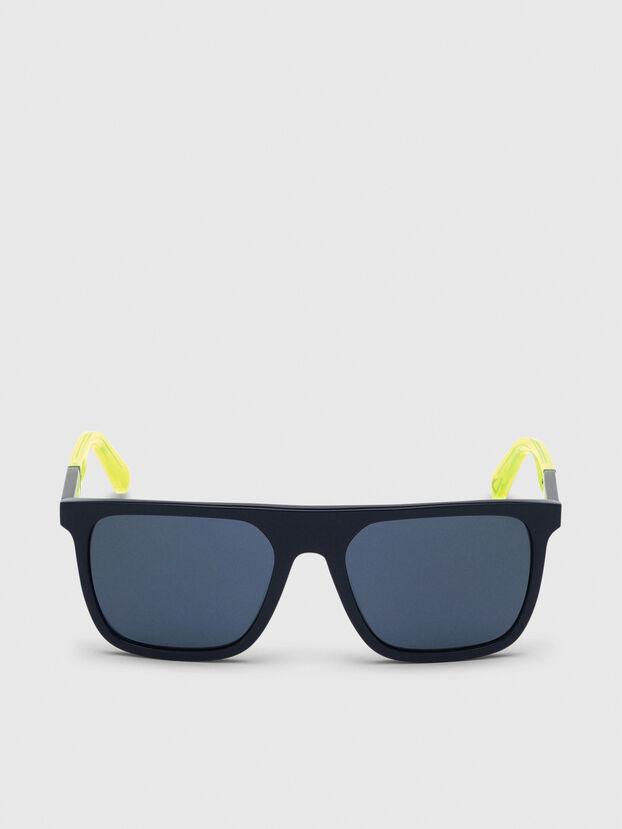 DL0299, Azul/Amarillo - Gafas de sol