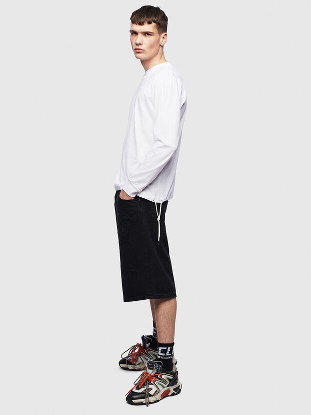 T-HUSTY-LS, Blanco - Camisetas