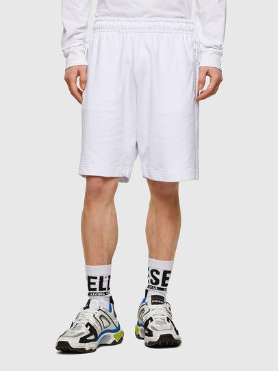 Diesel - P-HORTY, Blanco - Shorts - Image 1