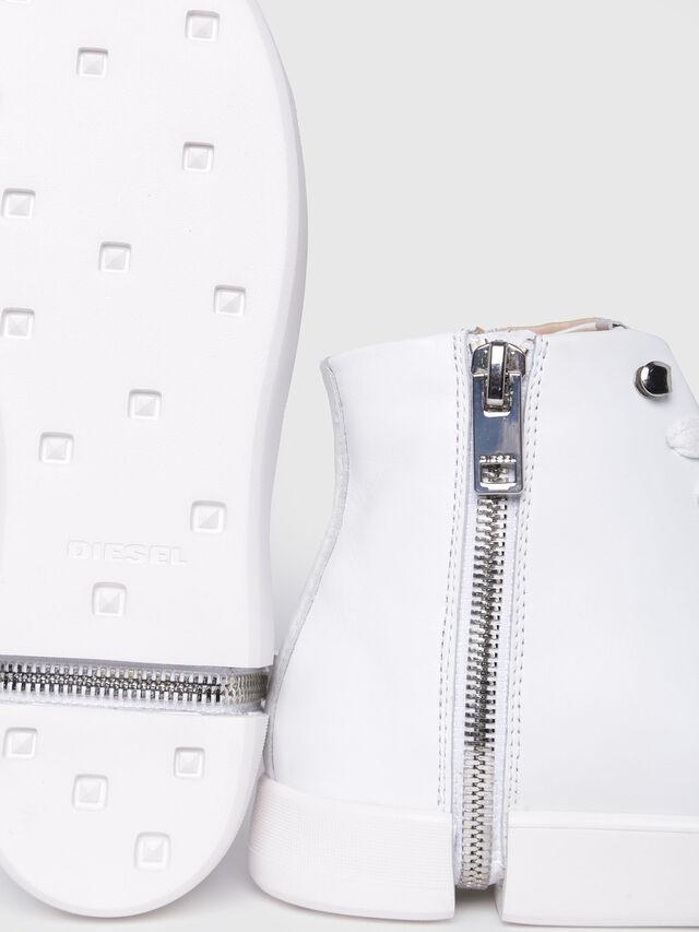 Diesel - S-NENTISH MC W, Blanco - Sneakers - Image 4