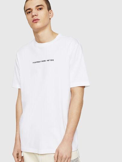 Diesel - T-JUST-COPY, Blanco - Camisetas - Image 1