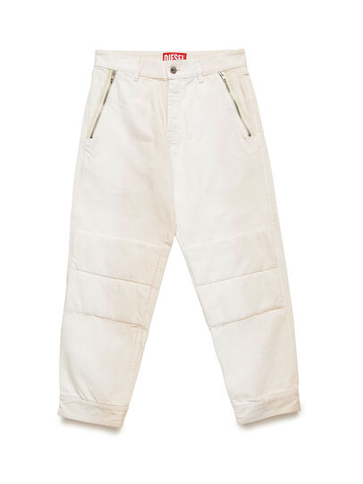 Diesel - GR02-P301, Blanco - Pantalones - Image 1