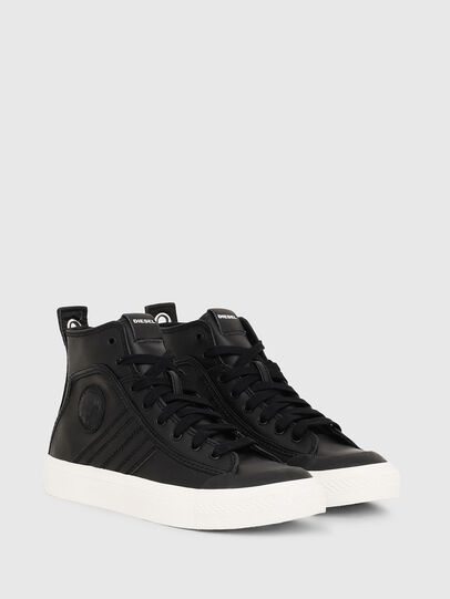 Diesel - S-ASTICO MID LACE W, Negro - Sneakers - Image 2