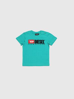 TJUSTDIVISIONB, Verde Agua - Camisetas y Tops