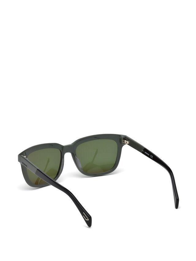 Diesel - DL0224, Verde - Gafas de sol - Image 2