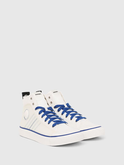 Diesel - S-ASTICO MC H, Blanco/Azul - Sneakers - Image 2