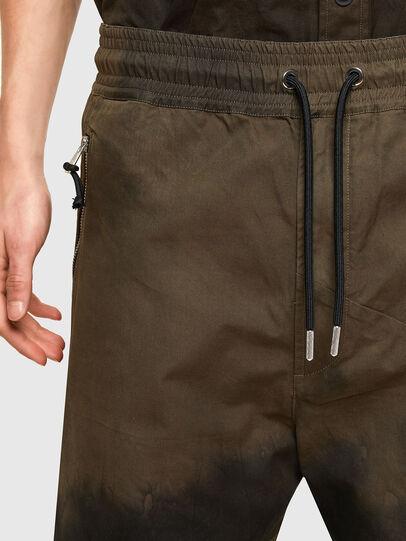 Diesel - P-HILL, Verde Militar - Pantalones - Image 4