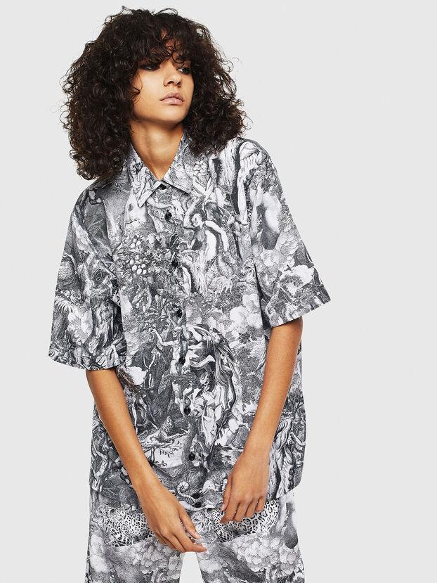 C-FRY, Negro/Blanco - Camisas