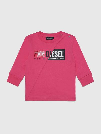 Diesel - TDIEGOCUTYB-FL ML, Rosa - Camisetas y Tops - Image 1