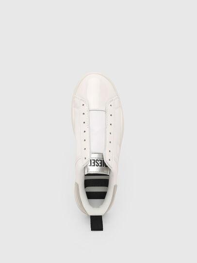 Diesel - S-CLEVER SO W, Blanco/Plateado - Sneakers - Image 6