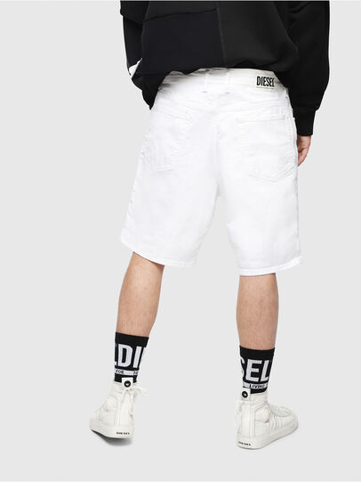 Diesel - D-WILLOH, Blanco - Shorts - Image 2