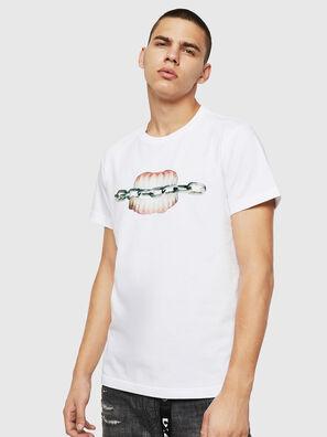 T-DIEGO-B10, Blanco - Camisetas