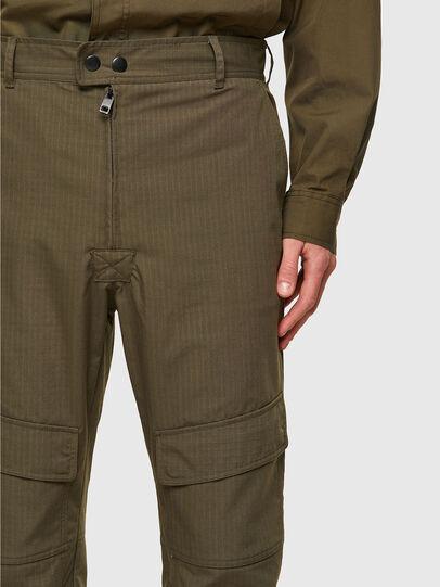Diesel - P-SIDE, Verde Militar - Pantalones - Image 3