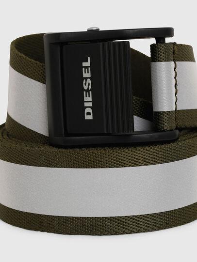 Diesel - B-FIRE, Verde Oliva - Cinturones - Image 2