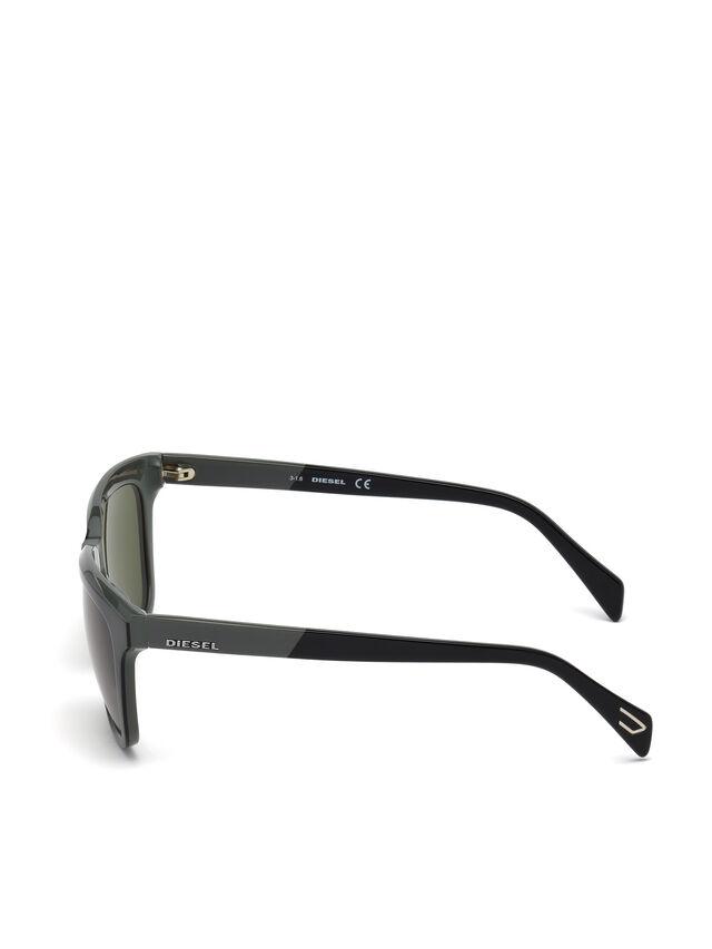Diesel - DL0224, Verde - Gafas de sol - Image 3