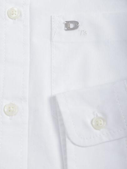 Diesel - CSMOI, Blanco - Camisas - Image 3