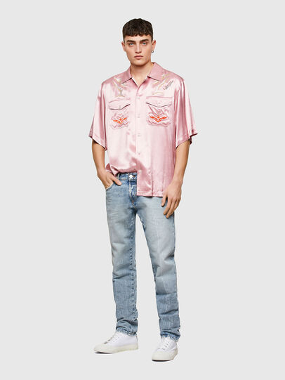 Diesel - S-MITCH, Rosa - Camisas - Image 7