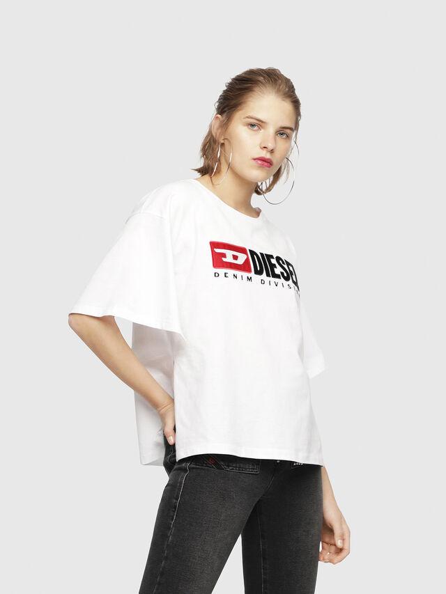 Diesel - T-JACKY-D, Blanco - Camisetas - Image 1