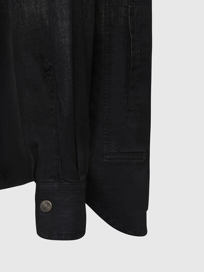 Diesel - D-NESKY, Negro - Camisas de Denim - Image 4