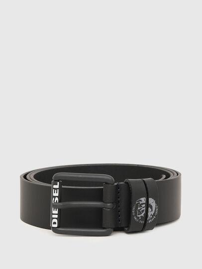 Diesel - B-LAMON, Negro - Cinturones - Image 1